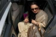 Bollywood star Rekha at Parliament House