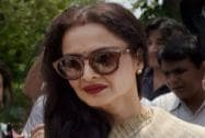 Rekha at Parliament House