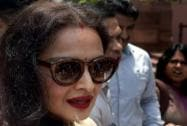 Rekha turns up to attend RS proceedings