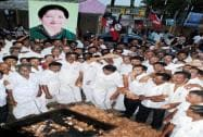 Supporters show love for Amma