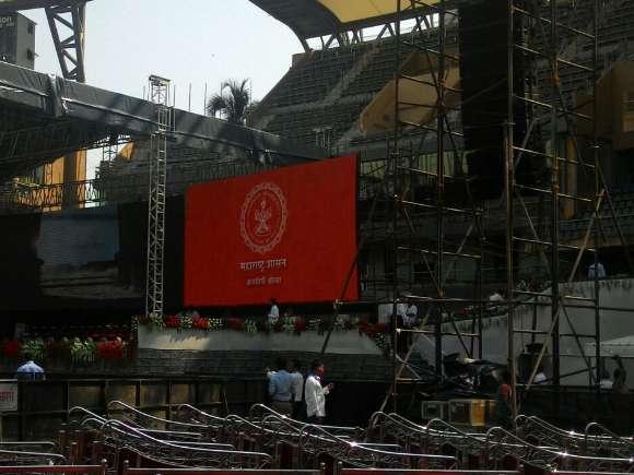 Amit Shah, BJP, Narendra Modi, Devendra Fadnavis, Wankehde stadium, World Cup