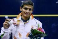 Saurav Ghosal wins silver medal in squash