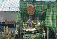 Singer performs at Celtic Park