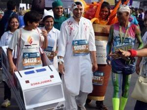 Glam, glitter, glory mark 14th Mumbai Marathon
