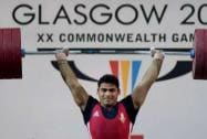 Vikas Thakur wins silver in Weightlifting