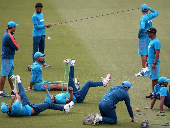India, Australia, World Cup, Semifinal, Training