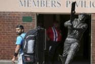 Indian team trains at SCG ahead of semis versus Australia