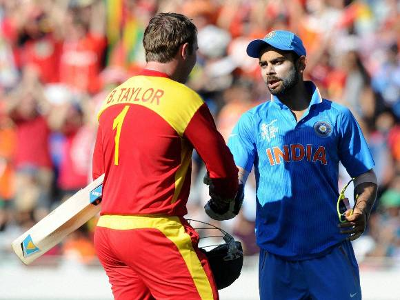 India, Zimbabwe, World Cup 2015