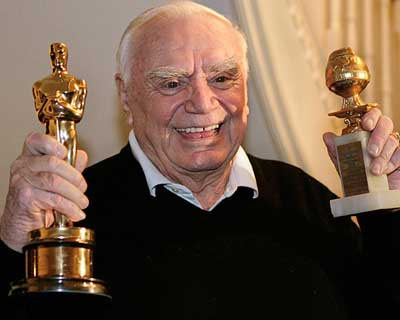 <b>Ernest Borgnine</b>, 95, was an American film and television actor whose career spanned more than six decades. Am unconventional lead in many films of the 1950s, he won an Oscar in 1955 for Marty. On television, he played Quinton McHale in the 1962?1966 series McHale's Navy and co-starred in the mid-1980s action series Airwolf, in addition to a wide variety of other roles. Borgnine earned an Emmy Award nomination at age 92 for his work on the series ER.