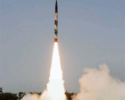 Agni-I successfully test-fired