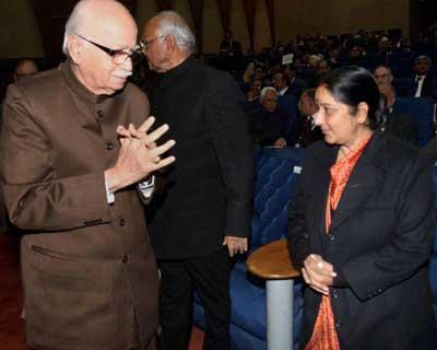 Advani attends agri awards