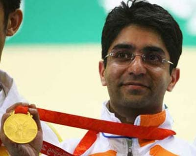 <b>August 11:</b> Abhinav Bindra won India&#39;s first individual gold medal in men&#39;s 10-metre air rifle shooting at the 2008 Beijing Olympics