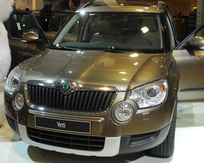 <b>Skoda Yeti:</b> The Yeti is Skoda&#39;s &#39;go anywhere&#39; SUV. It comes with four-wheel drive and is equally capable both on- and off-road. The Yeti will be on sale in India next year.