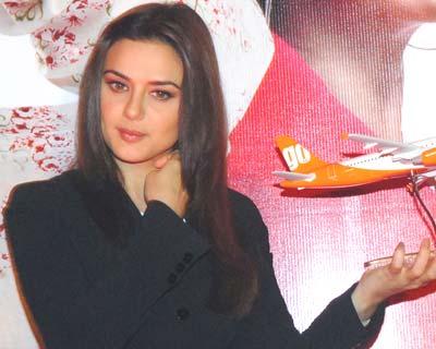 Preity is GoAir brand ambassador