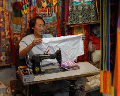 Handicrafts is also a big industry