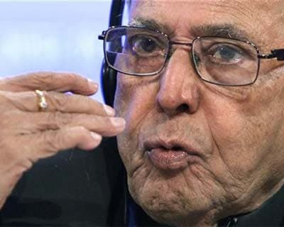 "<p><b>Finance Minister Pranab Mukherjee speaks at a news conference during the spring International Monetary Fund (IMF)-World Bank meetings in Washington</b></p><p>Finance Minister Pranab Mukherjee said there was ""no need for panic"" after the rating agency Standard & Poor&#39;s downgraded the country&#39;s outlook from stable to negative on Wednesday.</p><p>India is likely to pass some financial reforms in the current session of parliament, which started on Monday, he added.</p><p>""There is no need for panic,"" Mukherjee told reporters. ""The situation may be difficult, but we will be surely able to overcome [it].""</p>"