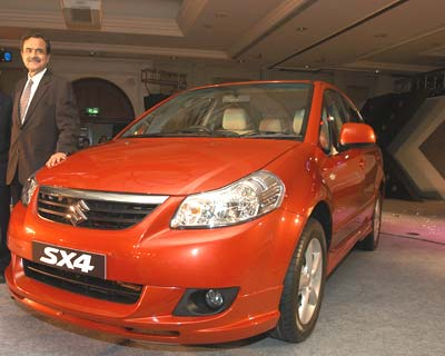 Maruti launches SX4 to take on Honda City