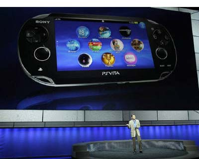 <p><b>Kazuo Hirai, President and Group CEO of Sony Computer Entertainment, presents the new PlayStation Vita handheld games device during a media briefing before the opening day of the Electronic Entertainment Expo, or E3, at the Memorial Sports Arena in Los Angeles</b></p><p>Sony Corp unveiled the pricing of its new PlayStation Vita handheld games device at a flashy Los Angeles event and immediately ran into criticism the gadget was too expensive.</p><p>The show featured appearances by sports and rock stars and was a bid by the electronics giant to move on from the computer hacking attacks that forced it to shut down its videogames network for almost a month.</p><p>The new device is aimed at competing with the likes of Apple's iPod Touch and the plethora of smartphones and tablets on the market. After the device was first unveiled in January, the show on Monday revealed other details, including the name and basic price.</p><p>It will go on sale for $249, or $299 for a 3G mobile ve