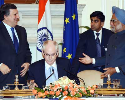 Singh meets EU Council