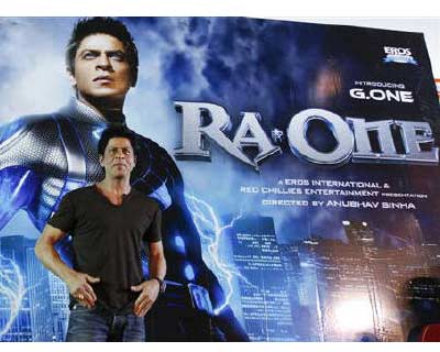 "<p>Bollywood actor Shah Rukh Khan poses for pictures during a news conference for his forthcoming movie ""Ra.One"" at a multiplex in Ahmedabad</p><p><b>Movie distributor Eros International Plc said it signed a multi-film agreement with KT Corp, South Korea&#39;s No 2 mobile carrier, to showcase 50 of its film titles on multiple digital platforms.</b></p><p>Eros said KT-owned Olleh TV would showcase 50 films from the company&#39;s library, including Chalo Dilli (Let&#39;s Go To Delhi), No Problem and London Dreams, as per the revenue-sharing agreement.</p><p>Eros boasts of a strong slate of movies that include ""RA.One"", staring A-listers Shahrukh Khan and Kareena Kapoor, and ""Rockstar"", featuring Ranbir Kapoor.</p>"
