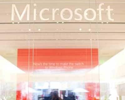 Microsoft website crashes
