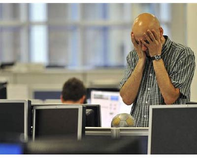 """<p><b>A dealer reacts on the trading floor of IG Index in the City of London</b></p><p>European equities followed Asian stocks lower on Thursday as investors fretting about the global growth outlook cut exposure to riskier assets, while the Swiss franc fell on talk the central bank was intervening in the forwards market.</p><p>Nagging worries about the US economy and dim prospects of a quick fix for the eurozone's debt crisis prompted investors to lock in profits following this  week's rally in European stocks to one-week highs.</p><p>Adding to the glum growth picture, Morgan Stanley cut its forecast for global growth, citing """"recent policy errors"""" in the United States and Europe, plus prospects of further fiscal tightening in 2012.</p><p>European stocks fell 1.2%, giving up the previous session's gains.</p>"""
