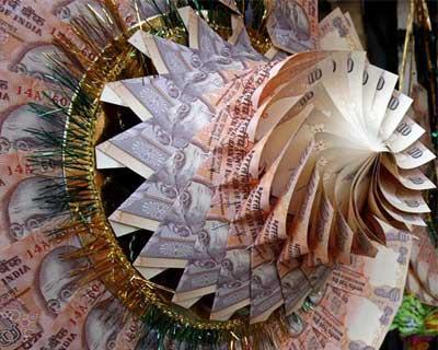 Rupee at 2-week low