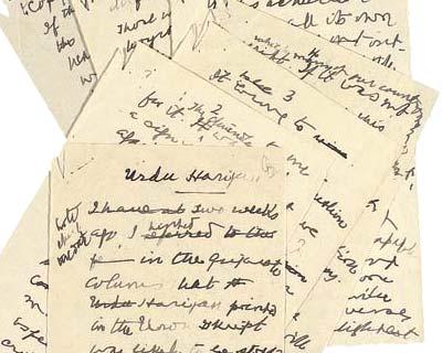 Govt acquires Mahatma Gandhi manuscript