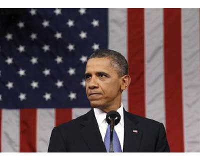 <p>President Barack Obama addresses a joint session of the United States Congress on the subject of job creation on Capitol Hill in Washington</p><p><B>President Barack Obama, seeking to rescue the troubled US economy and his own prospects for re-election, embarks on an uphill battle on Friday to win Republican support for a make-or-break $447 billion jobs plan.</B></p><p>The proposals, heavily weighted toward tax cuts for workers and businesses, were carefully crafted to appeal to middle-class voters who gravitate toward the political center.</p>
