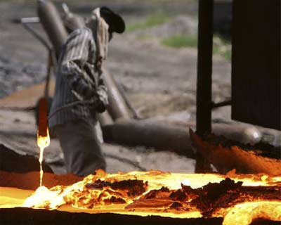 """<p><b>A labourer works in a ferrochrome factory at Bharibramna, 20 km west of Jammu</b> </p><p> Nomura said on Wednesday it had upgraded India&#39;s Sterlite Industries to \""""buy\"""" from \""""neutral\"""", following a recent fall in its share prices. </p><p> The non-ferrous metals producer is down more than 28 per cent in the year to date, while the main BSE Sensex is up more than 3 per cent. </p><p> \""""We believe the market has over-reacted to the Vedanta-Cairn deal and the loss of mining assets at Niyamgiri,\"""" Nomura analysts said in a note. </p><p> \""""In our opinion, the fundamentals of Sterlite remain unchanged. The company is not involved in the Cairn India acquisition.\"""" </p><p> At 1:58 pm, Sterlite shares were up 2.1 per cent at Rs 154.2 while the main index firmed 0.9 per cent. </p><p>"""