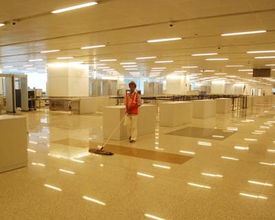 The immigration section at IGI's terminal 3 or T3. Delhi airport will be eight-largest in terms of size and sixth largest in terms of capacity in the world.