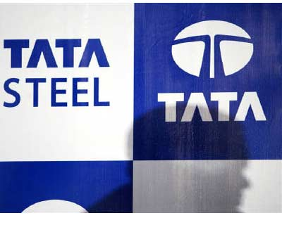 <p><b>Tata Steel logo is seen in Mumbai May 17, 2007. Tata Steel, the world&#39;s seventh-largest steelmaker, said on Thursday sales from its Indian operations rose 14 per cent in the July-September quarter, to 1.66 million tonnes</b>