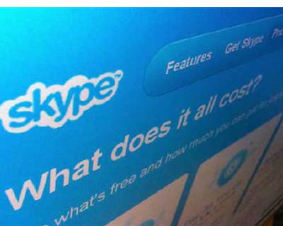 <p>A page from the Skype website is seen in Singapore</p><p><b>Microsoft is close to buying internet telephony network Skype in an $8.5 bn deal, a source familiar with the situation said, as it seeks to regain ground on growing rivals such as Google.</b></p><p>Buying the loss-making but popular Skype would underline Microsoft&#39;s need to gain new customers and platforms for its software as smartphones and tablets explode in popularity.</p><p>Skype, which allows people to make calls at no charge, would also give Microsoft a foothold in potentially the lucrative video-conferencing market as global businesses seeking to reduce expenditure shift to lower-cost ways of communicating.</p>