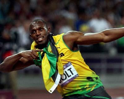 Usain Bolt wins Men's 200m gold
