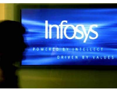 <p><b>A man walks past a billboard of Infosys Technologies Ltd's office in Bangalore</b></p><p>India's second-largest software services exporter Infosys warned on Tuesday it faces a volatile global economy and a possible slowdown in client spending.</p><p>The company, long considered a bellwether for India's showcase $60 billion IT industry, disclosed its client acquisition numbers were the lowest in four years and its costs were increasing because it was paying higher wages to retain talent in the ultra-competitive industry.</p><p>The company narrowly missed expectations with a 15.4% rise in first-quarter profit and its shares were hammered in Mumbai, falling nearly 6%.</p><p>Bangalore-based Infosys, also listed on the Nasdaq, said consolidated net profit rose to Rs 1,722 crore ($ 387 million), from Rs 1,488 crore a year earlier.</p><p>Revenue rose about 21% to Rs 7,485 crore, as the firm added 26 clients in the June quarter.</p>