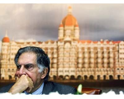 <p><b>Chairman of Tata Group Ratan Tata attends the annual general meeting of The Indian Hotels Company Ltd in Mumbai</b>