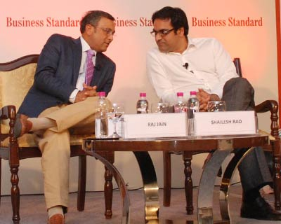 Wal-Mart India President and Bharti Walmart CEO & MD Raj Jain and Google India MD Shailesh Rao in a candid conversation