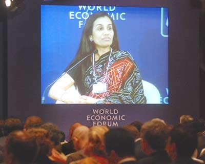 Chanda Kochhar, managing director & chief executive officer, ICICI Bank at the summit in New Delhi