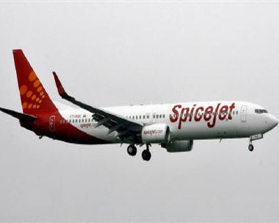 """<p><b>SpiceJet aircraft prepares for landing at the airport in Mumbai.</b> </p><p> Indian private airlines seem to have litte choice but to give in to the clamour for lower fares, as the government cracks the whip on carriers that have raised spot fares excessively in recent months. </p><p> Domestic air fares have shot up in the past two months, with last-day fares almost doubling, on supply constraints, higher holiday season demand and airlines' trying to maximise revenue in a competitive market, analysts said. </p><p> The government's insistence on cutting fares could cap gains from sharply higher spot fares, though overall quarterly earnings would not be severely hit. </p><p> \""""Extraordinary gains which were supposed to come now may not come,\"""" said Rashesh Shah, analyst with ICICI Securities, adding his earnings projections would not be impacted as extraordinary gains were not factored in. </p><p> Earnings from spot tickets, or tickets bought at the last minute, t"""