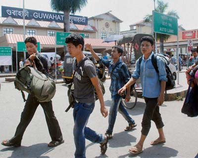 North East people continue to leave Karnataka, other states
