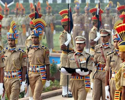 Jawans pay tribute on Police Commeration Day