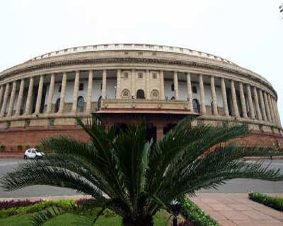 <p><b>A view of the Indian parliament building is seen in New Delhi</b> </p><p> A senior leader of the opposition communist party said on Monday the government was willing to discuss a demand for a wider probe into a corruption scandal to break a deadlock in parliament. </p><p> The opposition has halted parliament sessions since early November over demands for a joint parliamentary investigation into the sale of telecoms licences and spectrum in the world's fastest growing mobile phone market. </p>