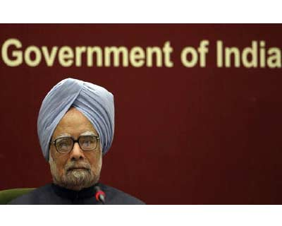<p><b>Prime Minister Manmohan Singh attends the Indian labour conference in New Delhi</b>