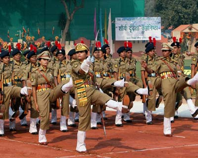 ITBP personnel at 51st Raising Day Parade