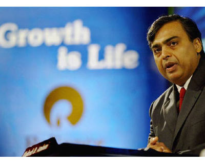 <p><b>Reliance Industries Ltd Chairman Mukesh Ambani addresses shareholders in Mumbai</b>