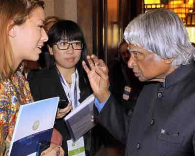 APJ Abdul Kalam at the Beijing Forum 2012