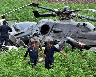 Two IAF choppers collide mid-air