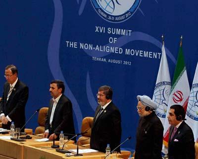 PM at the XVI NAM Summit in Tehran