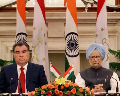 Tajikistan President meets PM to strengthen defence ties