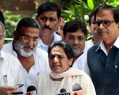 Mayawati blames NDA, UPA for delay in passing quota bill